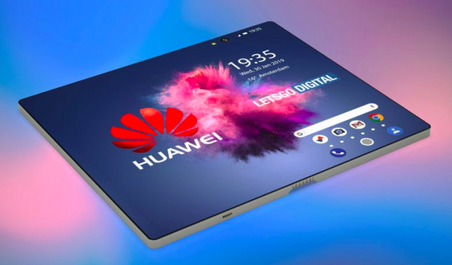 Huawei foldable phone 02