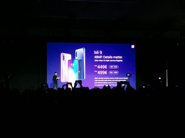 Xiaomi Mi 9 Global launch price
