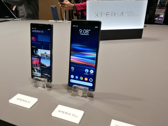 Xperia 10 Xperia 10 Plus hands-on