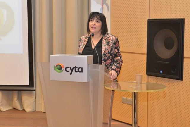 H Πρόεδρος της Ειδικής Μόνιμης Επιτροπής Προστασίας Περιβάλλοντος της Βουλής των Ελλήνων, κ. Κατερίνα Ιγγλέζη Θεοδώρου