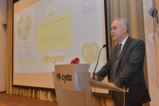 Ο κ. Γιάννης Κουλίας, Ανώτερος Διευθυντής Στρατηγικής και Χονδρικής Αγοράς στη Cyta