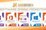 Software Deal: Office 2019 Pro στα 41,99 €, Windows 10 Pro στα 10,26 €