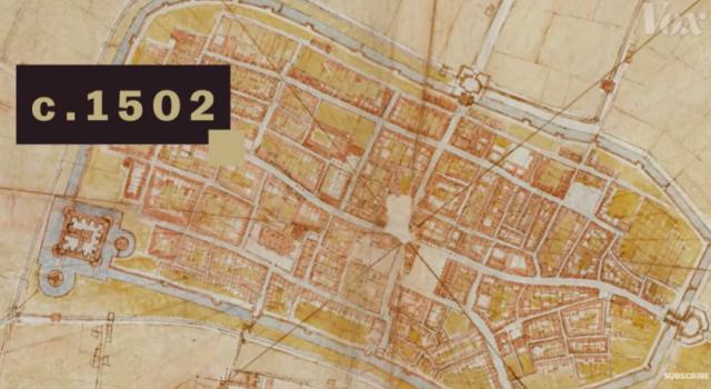 Map da Vinci
