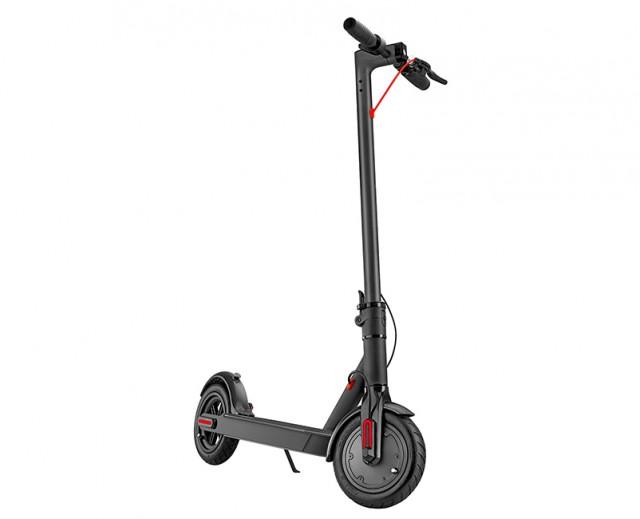 Turbo-X E-Scooter Black