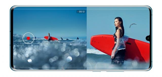 Huawei P30 kai P30 Pro Dual-View