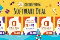 Καλοκαιρινή προσφορά: Windows 10 με 10,26€, Office 2016 με 25,43€ και τα δυο στα 30,39€ στο Goodoffer24