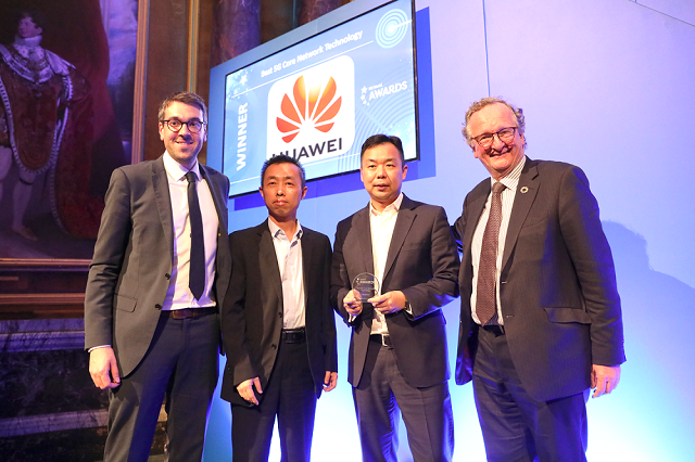 Huawei wins the Best 5G Core Network Technology award