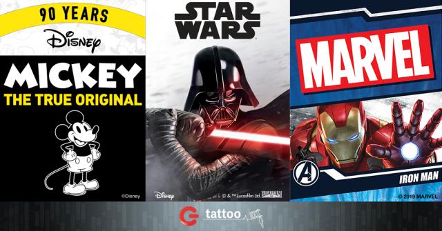 Disney_Marvel_StarWars_GTattoo