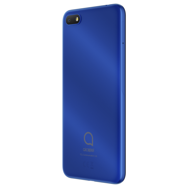 Alcatel 1V_Metallic Blue_Back Right(without FP with CE)