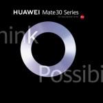 HUAWEI Mate 30 and Mate 30 Pro