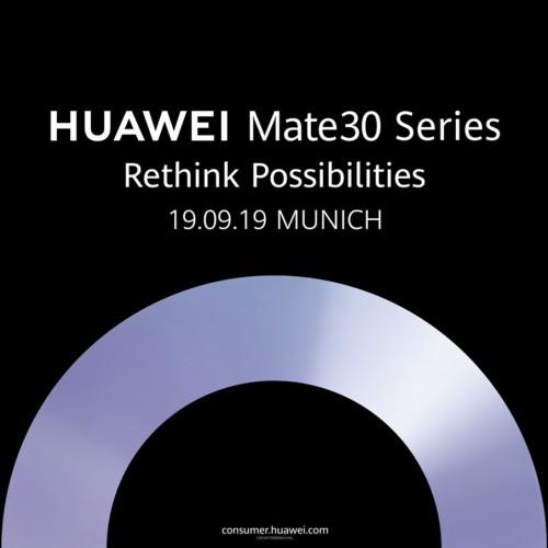 huawei mate 30 serie