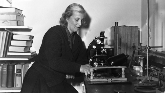 Dorothy Crowfoot Hodgkin/ Νικήτρια Νόμπελ Χημείας, 1964