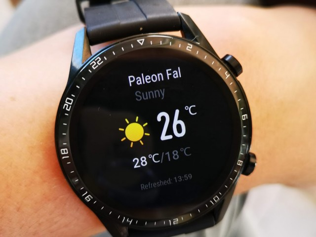 Huawei Watch GT 2 - hands-on - 06