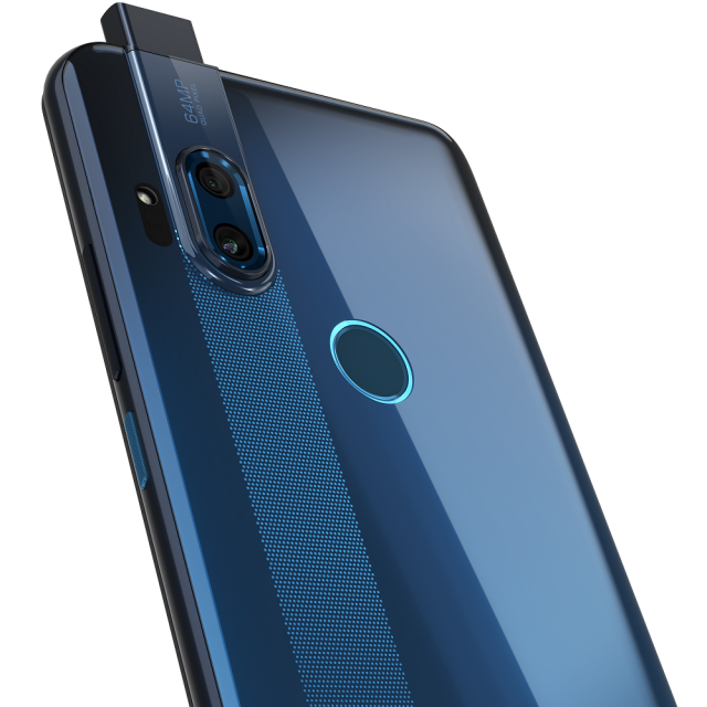 motorola one hyper_Deepsea Blue_Cam Detail_POP-UP