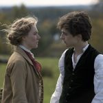 Saoirse Ronan and TimothŽe Chalamet in Columbia PicturesΥ LITTLE WOMEN.