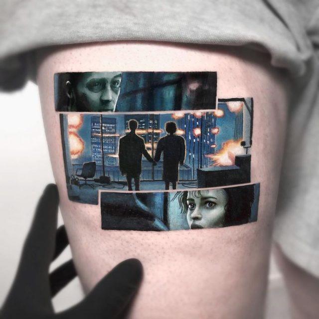 τατουάζ ποπ κουλτούρα
