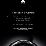 HUAWEI_OFFICIAL LIVESTREAMING INVITATION