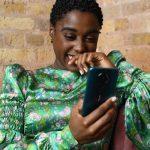 Lashana Lynch and new Nokia 5G phone