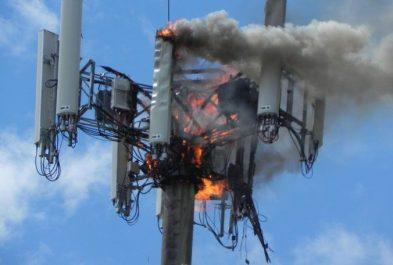 5G on fire
