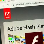 Adobe Flash player end support in win10