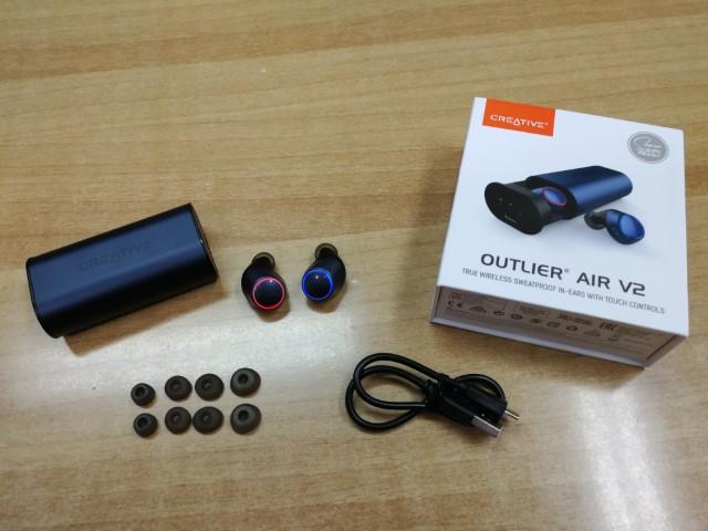 creative outlier air v2 1