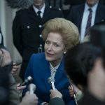 Picture shows: Margaret Thatcher (GILLIAN ANDERSON) **VANITY FAIR EXCLUSIVE**