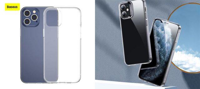 thikes silikonis diafanes lepti malaki baseus iphone 12 pro max