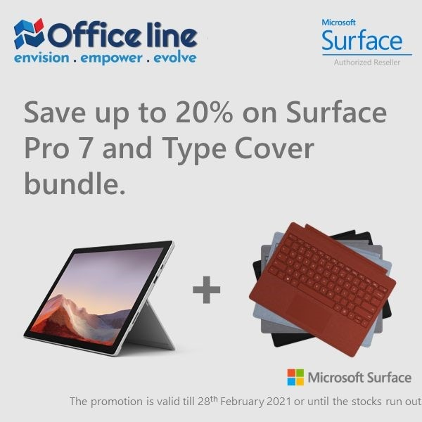 Save up to 20 Surface Pro 7 Type Cover 1