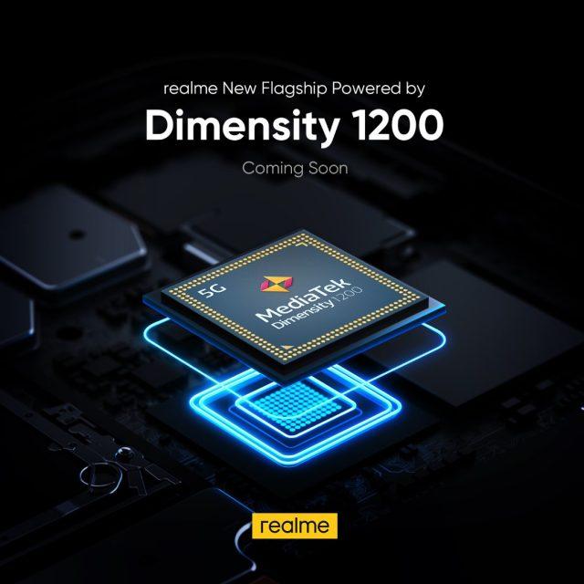 realme New Flagship Dimensity 1200