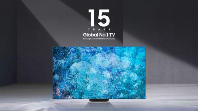 15years global no.1 tv 1