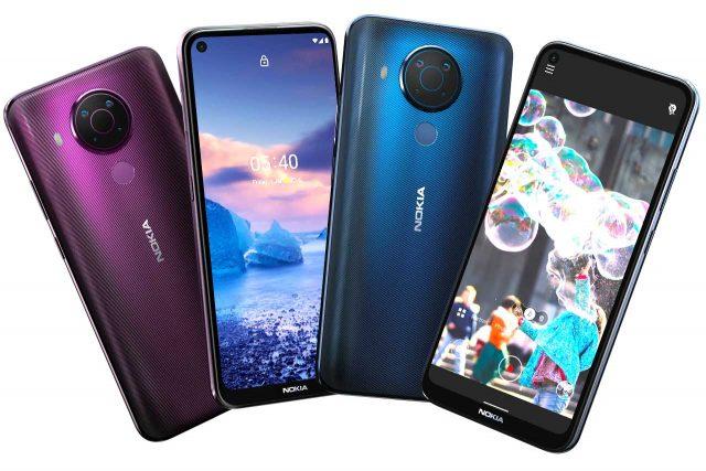 Nokia 5 4 Dusk Polar Night Colors