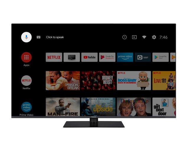PANASONIC TV HX700 android screen