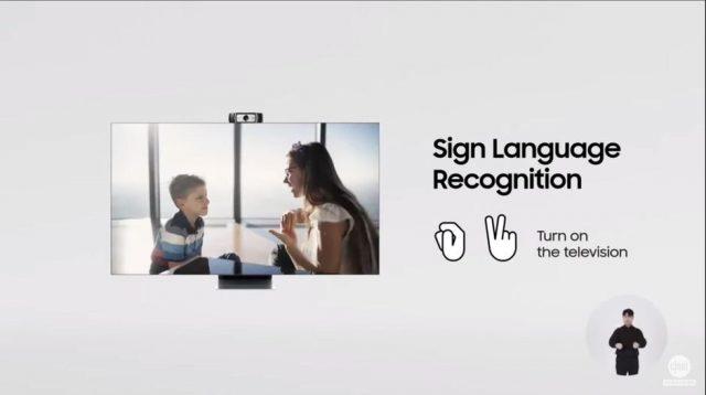 samsung sign language recognition