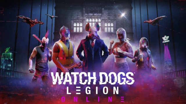 watch dogs legion online key art