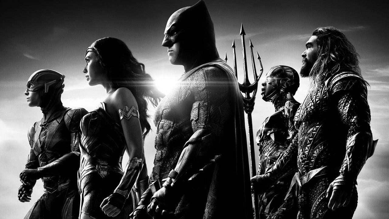 Justice League ασπρόμαυρη