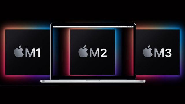 Apple M1 Apple M2 Apple M3 drd 7