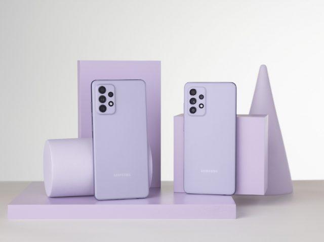 Galaxy A52 A72 Violet