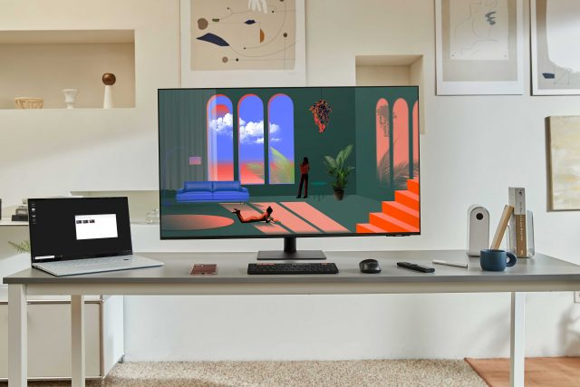 samsung smart monitor m71