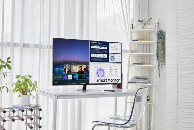 samsung smart monitor m72
