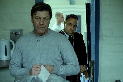 Strictly embargoed until 00:01 Hrs GMT on 9th December 2020** Eric McNally (STEPHEN GRAHAM), Mark Cobden (SEAN BEAN)